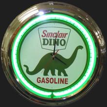 Sinclair Dino Neon Clock
