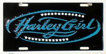 Harley Girl License Plate