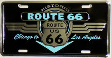 Route 66 Historic License Plate