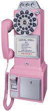 Pay Phone 1950's Style Pink Color