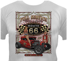 Full Service On Route 66 T-Shirt
