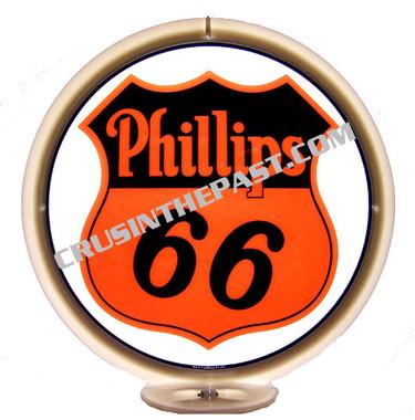 Phillips 66 Gasoline Gas Pump Globe