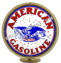 American Gasoline Gas Pump Globe