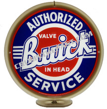 Buick Authorized Service Gas Pump Globe