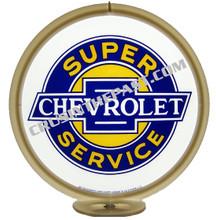 Chevrolet Super Service Gas Pump Globe