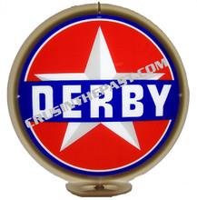 Derby Gasoline Gas Pump Globe