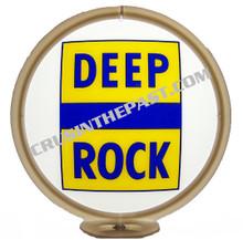 Deep Rock Gasoline Gas Pump Globe