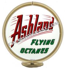 Ashland Gasoline Gas Pump Globe