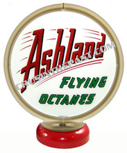Ashland Gasoline Gas Pump Globe Desk Lamp