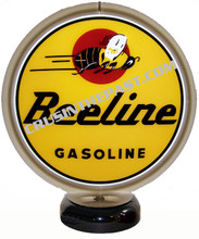 Beeline Gasoline Gas Pump Globe Desk Lamp