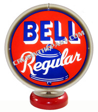 Bell Regular Gasoline Gas Pump Globe Desk Lamp