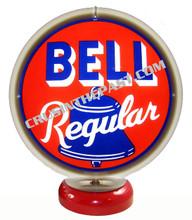 Bell Regular Gasoline Gas Pump Globe Desk Lamp
