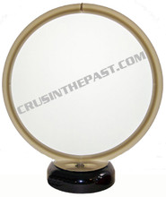 Blank Frosted Glass Gas Pump Globe Desk Lamp