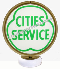 City Services Gas Pump Globe Desk Lamp