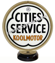 City Services Koolmotor Gas Pump Globe Desk Lamp