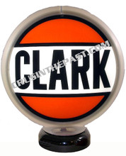 Clark Gasoline Gas Pump Globe Desk Lamp