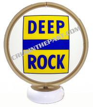 Deep Rock Gasoline Gas Pump Globe Desk Lamp