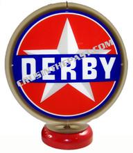 Derby Gasoline Gas Pump Globe Desk Lamp