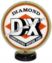 Diamond DX Gasoline Gas Pump Globe Desk Lamp