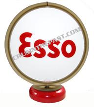 Esso Gasoline Gas Pump Globe Desk Lamp