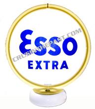 Esso Extra Gasoline Gas Pump Globe Desk Lamp