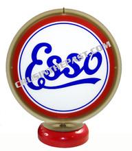 Esso Script Gasoline Gas Pump Globe Desk Lamp