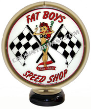 Fat Boys Speed Shop Gas Pump Globe Desk Lamp