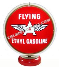 Flying A Ethyl Gas Pump Globe Desk Lamp