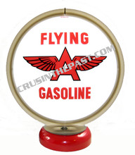 Flying A Gas Pump Globe Desk Lamp