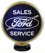 Ford Sales & Service Gas Pump Globe Desk Lamp