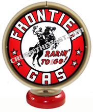 Frontier Gasoline Gas Pump Globe Desk Lamp