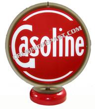 Gasoline Gas Pump Globe Desk Lamp