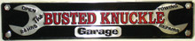 Busted Knuckle Garage Street Sign