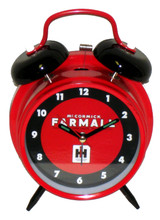 Farmall Tractor Classic Style Twin Bell Alarm Clock