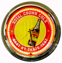 Royal Crown Cola Neon Clock