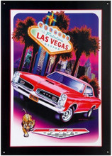 "Pontiac GTO ""Las Vegas"" Tin Sign"