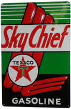 Texaco Sky Chief  Tin Sign