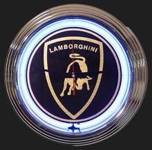 Lamborghini Neon Clock