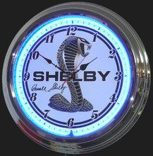Shelby New Style Neon Clock