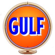 Gulf Oil Gasoline Gas Pump Globe