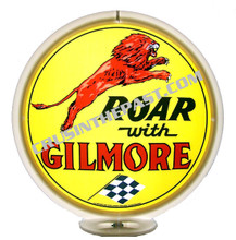"Gilmore ""Roar"" Gasoline Gas Pump Globe"