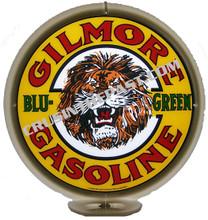 "Gilmore ""Blue-Green"" Gasoline Gas Pump Globe"
