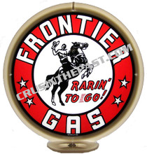Frontier Gasoline Gas Pump Globe