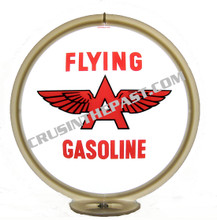 Flying A Gasoline Gas Pump Globe