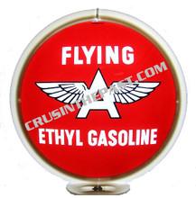 Flying A Ethyl Gasoline Gas Pump Globe