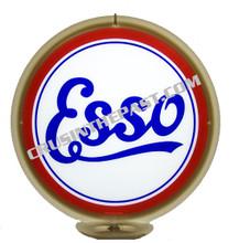 "Esso ""Script"" Gasoline Gas Pump Globe"