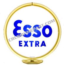 Esso Extra Gasoline Gas Pump Globe