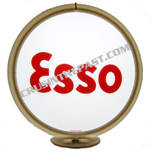 Esso Gasoline Gas Pump Globe
