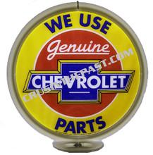 Chevrolet Genuine Parts Gas Pump Globe