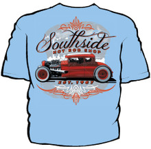 Southside Hot Rod Shop Navy Work Shirt
